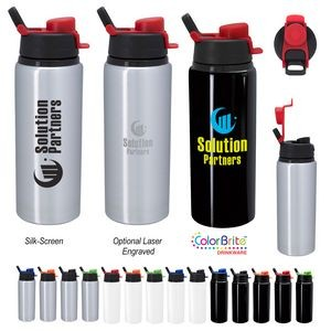 25 Oz. Aluminum Helena Bottle